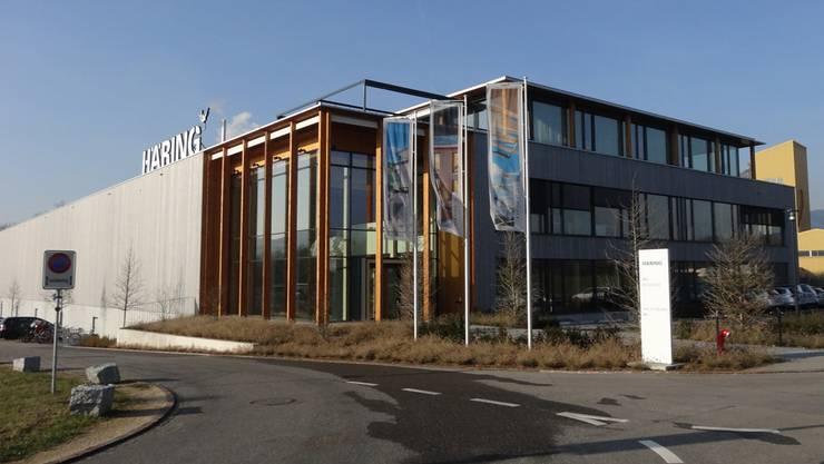 Im Jahr 2013 ein neues Kapitel in der Firmengeschichte aufgeschlagen: Häring und Co. AG, jetzt in Eiken. chr