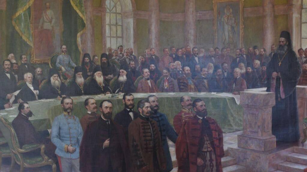 Dieses Gemälde wurde 1993 aus einem serbischen Schloss gestohlen und nun in Zürich sichergestellt.