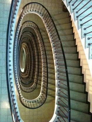 Faszinierende Treppenschnecke