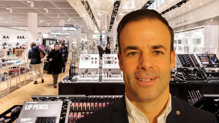 Manor-CEO Jérôme Gilg: «Wir arbeiten intensiv daran, uns zum führenden Omnichannel Warenhaus zu wandeln.»