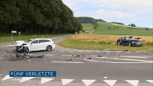 Zwei Schwerverletzte nach Verkehrsunfall in Gunzwil