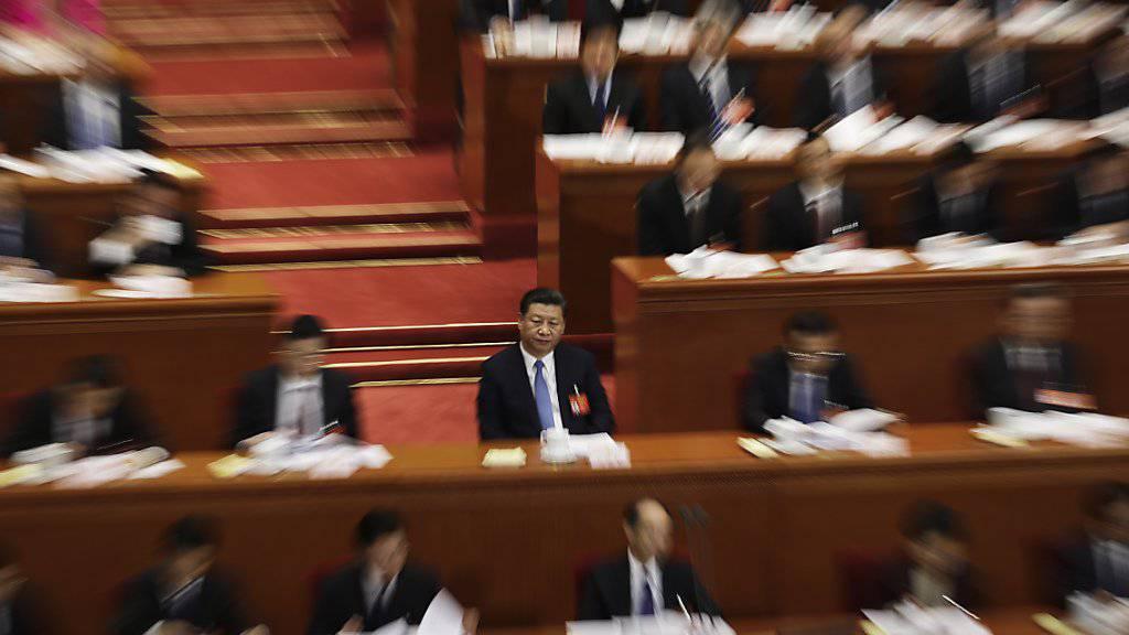 Chinas Präsident Xi Jinping will das Militär seinen Landes rasch modernisieren.
