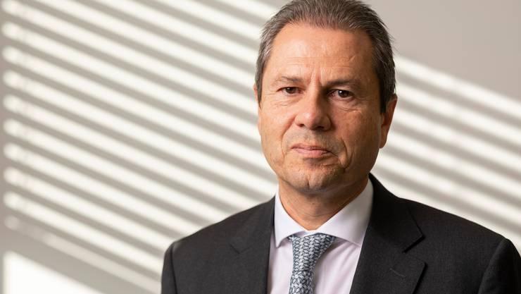 """Er will Meyer Burger """"in eine erfolgreiche Zukunft führen"""": Präsident Remo Lütolf. Zuerst muss er sich jedoch mit dem grössten Aktionär auseinandersetzen."""