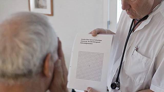 Besuch beim Hausarzt