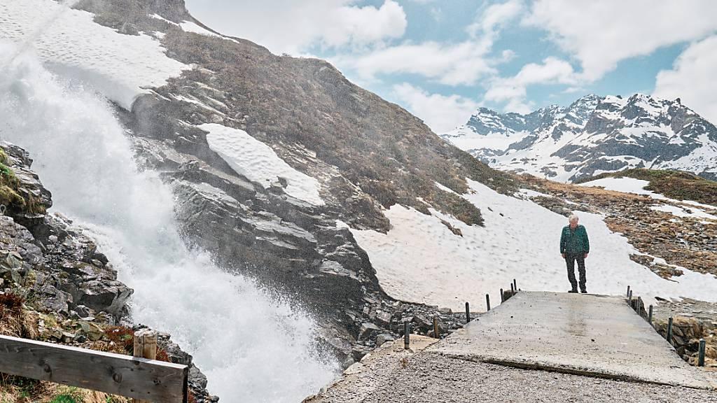 Wasserinstallation von Roman Signer in Vorarlberg