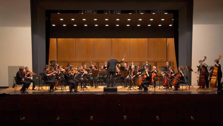 Der Orchesterverein Aarau begann das Konzert mit der «Trauersinfonie» von Joseph Haydn.