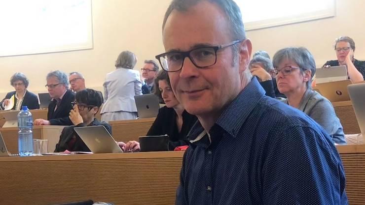 Werner Erni sitzt für die SP seit Mai 2019 im Grossen Rat.