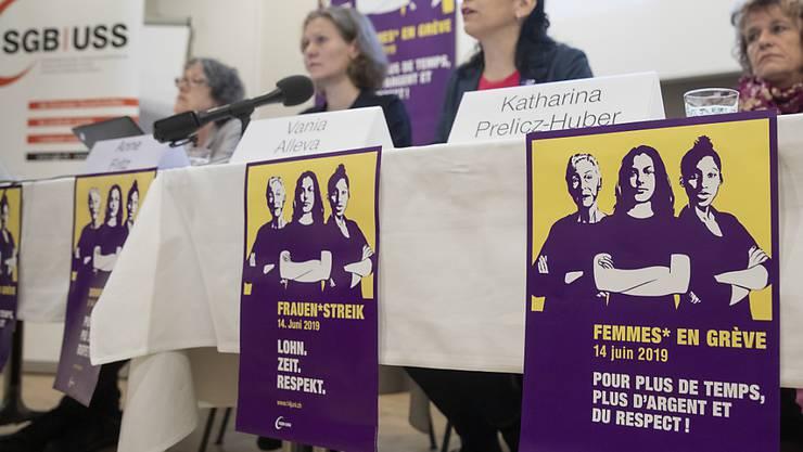 Neben den regionalen Streikkollektiven mobilisieren auch der Schweizerische Gewerkschaftsbund (SGB) und seine Mitglieder für den nationalen Frauenstreik vom 14. Juni.