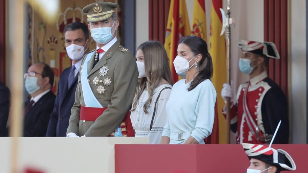 Nationalfeiertag in Spanien wieder mit Militärparade