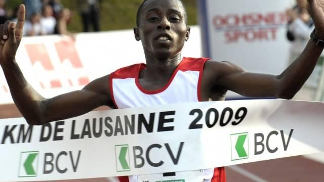 John Mwangangi unterbot den Streckenrekord deutlich
