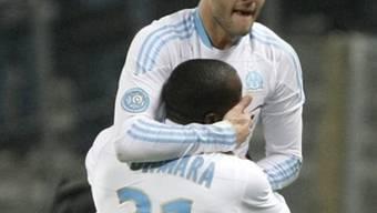 Marseilles Torschütze Gignac lässt sich feiern