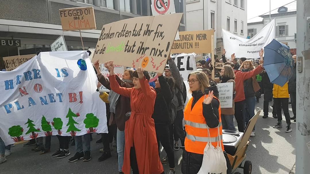 Klimademo Aarau