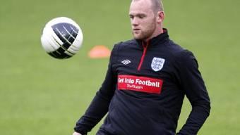 Rooney spielt gegen die Schweiz