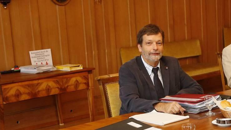 Finanzdirektor Roland Heim erwartet beiderseits Anstand.