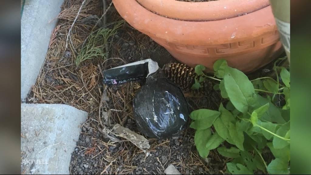 In Klingnau entdeckt Ehepaar erneut Sprengsatz in Garten