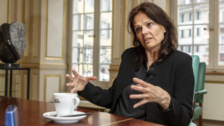 Stiftungs-Geschäftsführerin Regula Buob geniesst das Privileg, stets aus den besten Start-ups auswählen zu können.