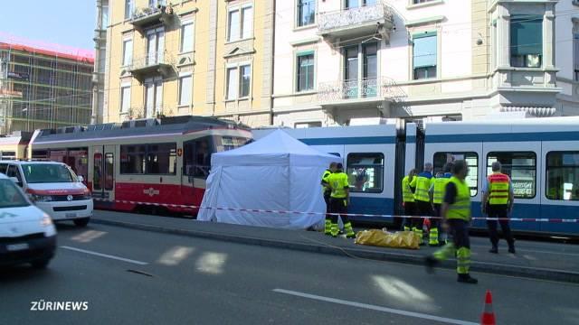 Tödlicher Tram-Unfall beim Kreuzplatz