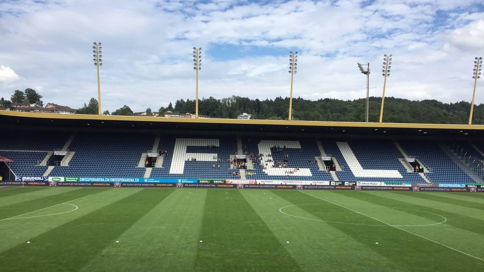 Das Spiel gegen den FC Sion wird verschoben.