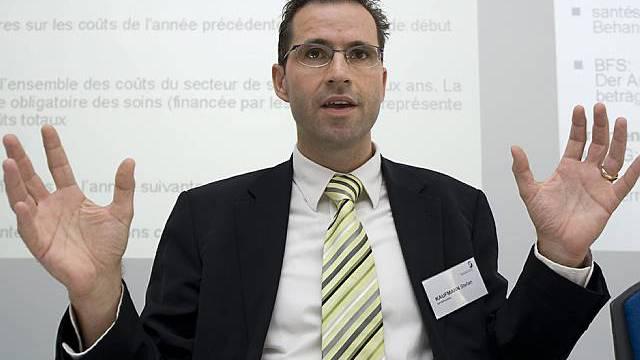 Santésuisse-Direktor Stefan Kaufmann verlässt den Verband (Archiv)