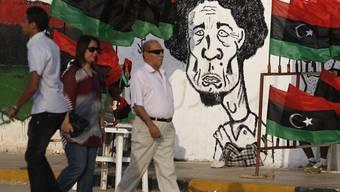 Die Rebellen sind in Tripolis: Das Ende von Gaddafi scheint nahe zu sein