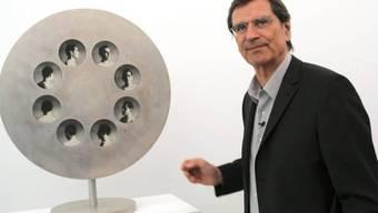 Der Schweizer Künstler Markus Raetz (Archiv)