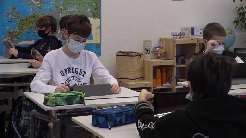 Ab heute gilt ab der vierten Klasse eine Maskenpflicht