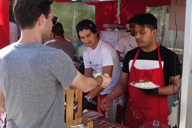 Die Preise werden vom OK des Streetfoodfestivalslimitiert um Wucherei zu vermeiden.