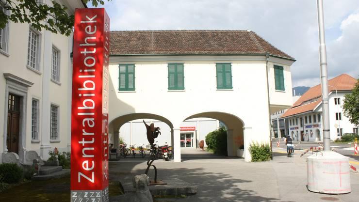 Geöffnet ist die Zentralbibliothek Solothurn nicht, es wird aber geliefert. (Archiv)