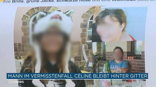 Célines Begleiter ist in Gewahrsam