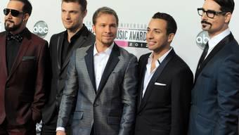 Die Backstreet Boys gehen es heute gemütlich an (Archiv)