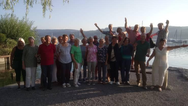 Gruppenbild am Greifensee
