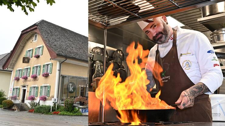 Daniel Pittet ist der neue Küchenchef im «Kreuz» Egerkingen.