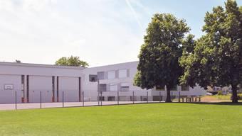 Auf diesem Rasenstück beim Schulhaus Steinmürli sollen bis 2017 zwei Provisorien stehen.