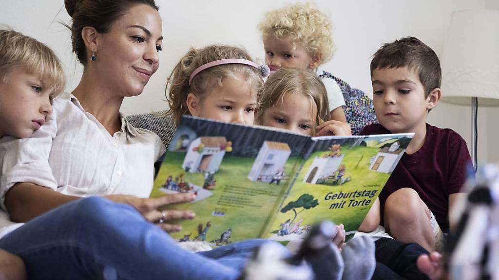 Kinder fühlen sich in der Schweiz laut Unicef wohl