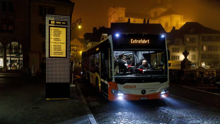 Mit dem Shuttlebus vom Klosterplatz ins Attisholz