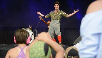 Marius am Kinderopenair Etziken 2018