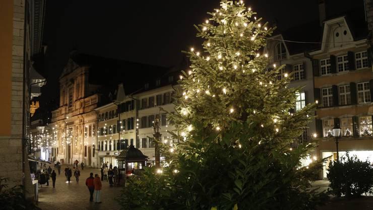 Weihnachtsstimmung pur, doch wo bleibt der Schnee?