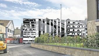 Die Visualisierung der Fassade.