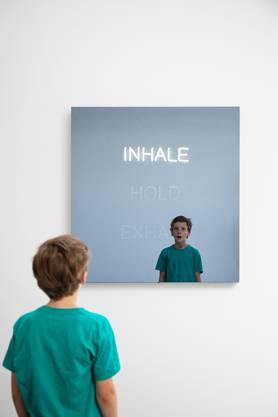 Atem-Kunst: Einatmen