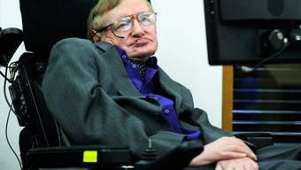 """Stephen Hawking unterstützt die """"Ice Bucket Challenge"""" (Archiv)"""