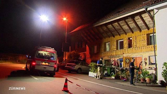 Schiesserei bei Cham im Kanton Zug