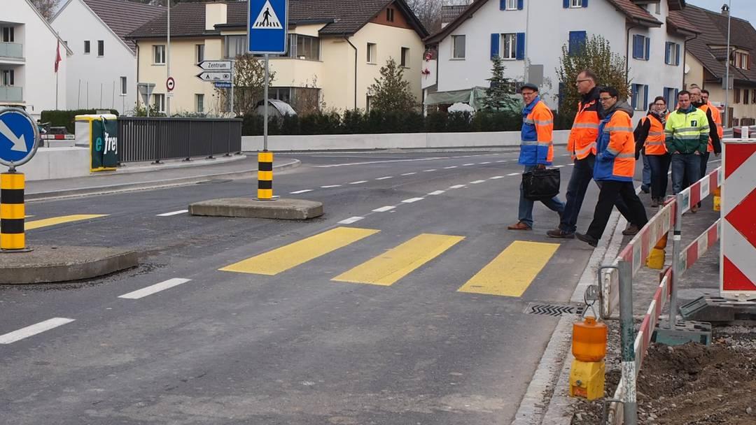 Die Brücke in Möhlin ist dem Verkehr übergeben worden.