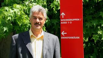 Der neue Gesamtleiter Jörg Scheibler fühlt sich auf dem Neuhof wohl