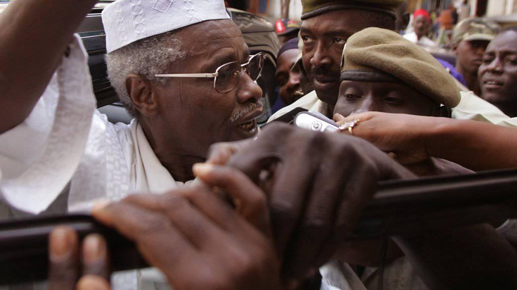 Der frühere Diktator des Tschad, Hissène Habré, im Jahr 2005.