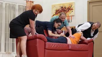 """Theatergruppe Münchwilen zeigt den Schwank """"D Tante Jutta vo..."""""""