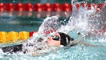 Nora Meister schwimmt an der EM in Dublin der Goldmedaille entgegen.