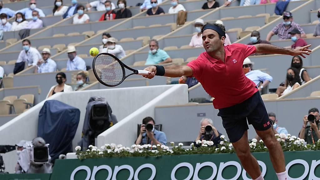 Roger Federer musste sich etwas mehr strecken als noch in der 1. Runde gegen Denis Istomin