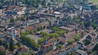 Das Kasernenareal im Herzen Aaraus soll für die Bevölkerung auch ein Ort der Begegnung werden.