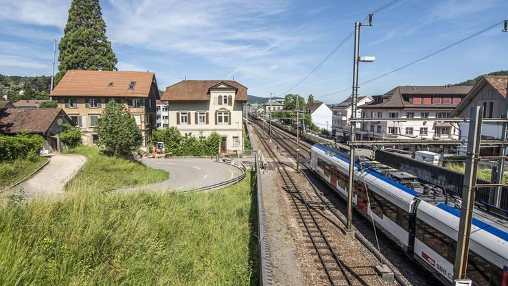 Der Schwieri-Übergang muss für den Vierspurausbau der SBB in Liestal angepasst werden.
