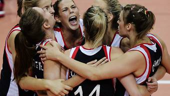 Die Belgierinnen feiern ihren sensationellen Halbfinal-Einzug